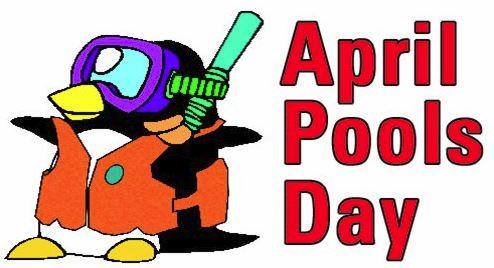 April Pool's Day Event this Saturday (April 14)