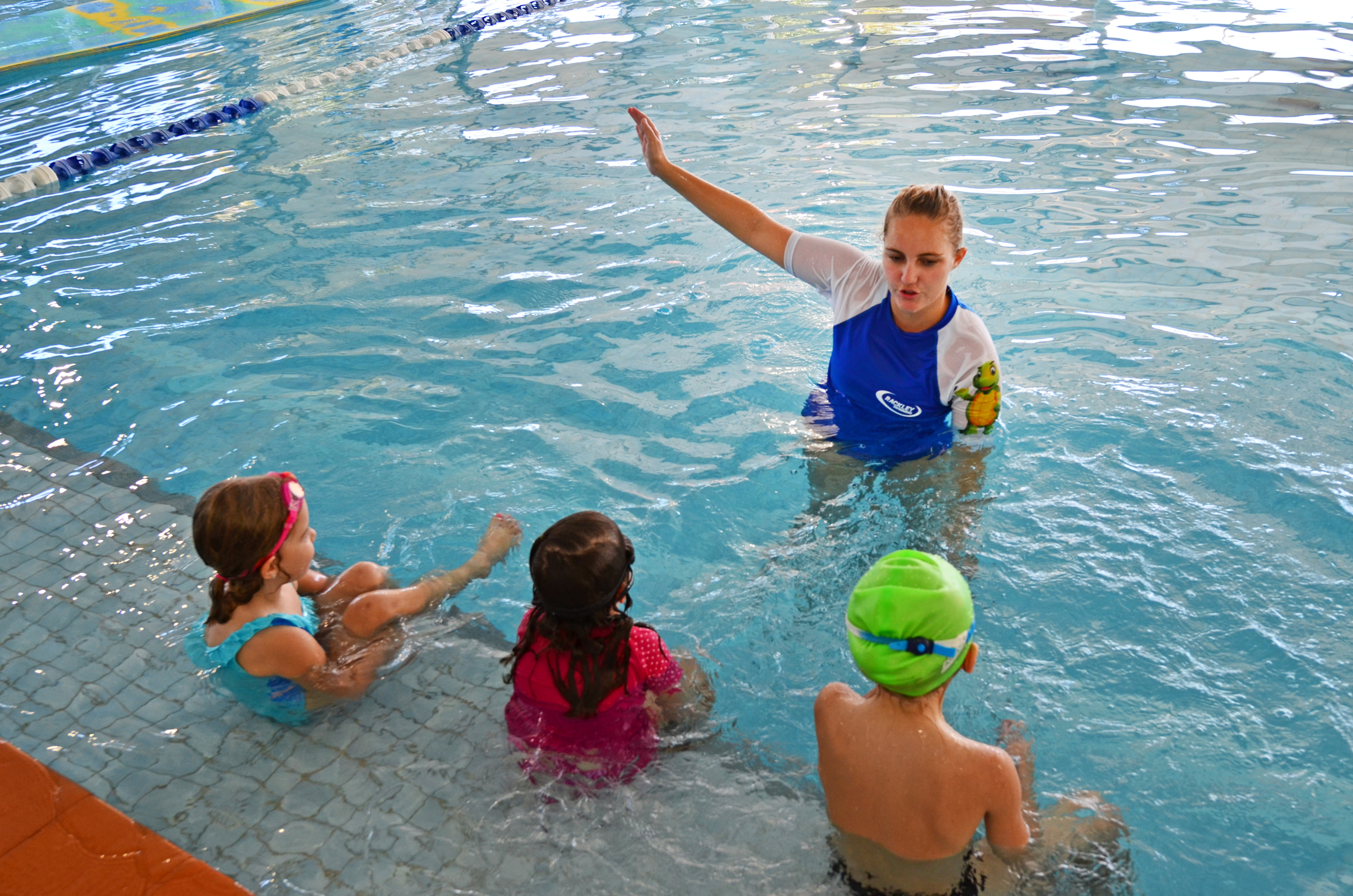Swim Lessons Mt Rainier Pool