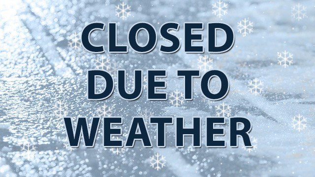 Pool Closed Today (February 4) Due to Inclement Weather